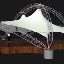 Арочная конструкция Дабл Арка с опорой на пространственные фермы
