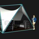 Тентовый шатер