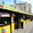 Фасадное остекление ресторана Сбарро на Манежной площадки в г.Москва.