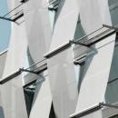 Изменение облика фасада здания с использованием мембранных конструкций