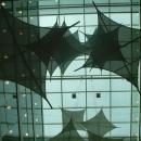 Интерьерные подвесные тканевые гипары - лаконичное декоративное решения для насыщения пустого объема.