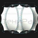 Прямоугольная арочная конструкция Цингулата