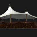 Шатровая мембранная конструкция Корсика