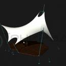 Отдельностоящая мембранная конструкция Скат