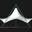 Мембранный шатер Агадаж