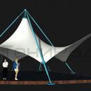 Ромбовидный шатер в восточном стиле Агадаж