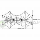 Мембранная конструкция - инсталляция Аннапурна, схема