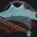 Летняя конструкция Дабл Арка имеет четыре опоры и открытый проход внутрь со всех сторон
