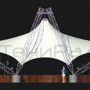Двухкупольная мембранная конструкция Дабл Арка