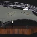 Необычная мембранная конструкция Дабл Арка