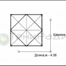 Схема тентового шатра