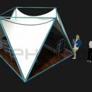 Общий вид тентового шатра