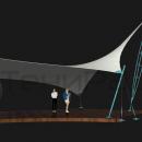 Мембранная конструкция Блейд, вид изометрический.
