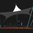 Мембранная конструкция Блейд, вид сбоку.