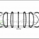 Схема мембранной конструкции Круассан