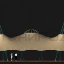 Тентовый шатер Гранд Канопи, вид фасадный.