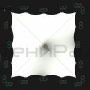 Вид сверху на мембранную оболочку конструкции