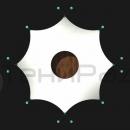 Схема креплений мембранной оболочки конструкции