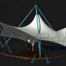 Мембранная каркасно-тентовая конструкция Стабила. Необычное решение