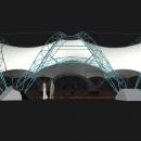 Арочная конструкция Цингулата с опорными фермами