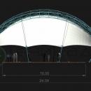 Модель мембранной конструкции Цингулата