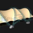 Мембранная арочная конструкция Цингулата