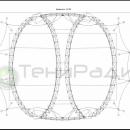 Круглогодичная арочная конструкция Цингулата, схема