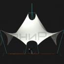 Натяжная мембранная конструкция Скат